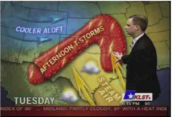 Funny Weather Map